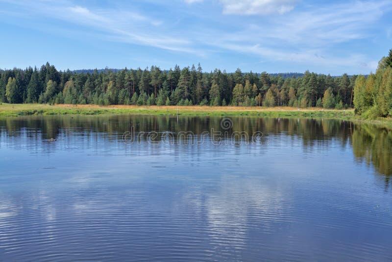 Jeziorny Lipno obrazy stock