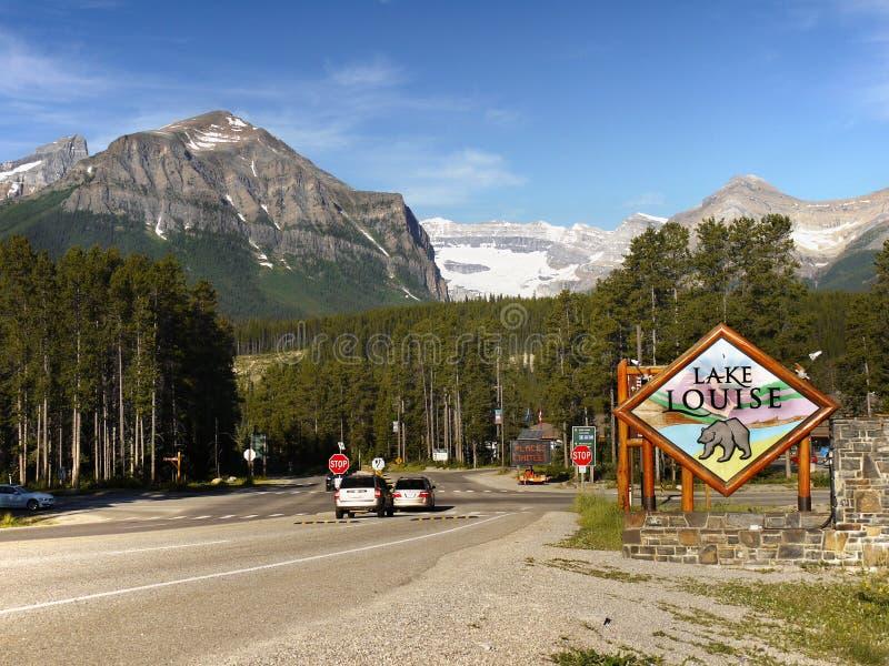 Jeziorny Louise, Kanadyjskie Skaliste góry, Alberta zdjęcia stock