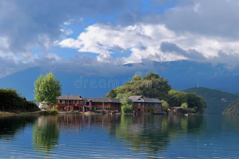 jeziorny lugu zdjęcie stock