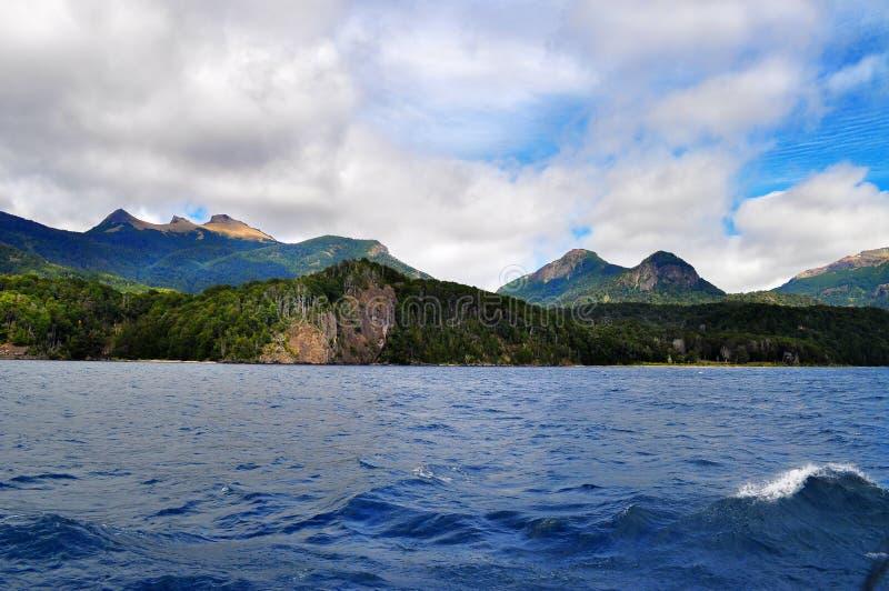 Jeziorny Nahuel Huapi zdjęcia royalty free