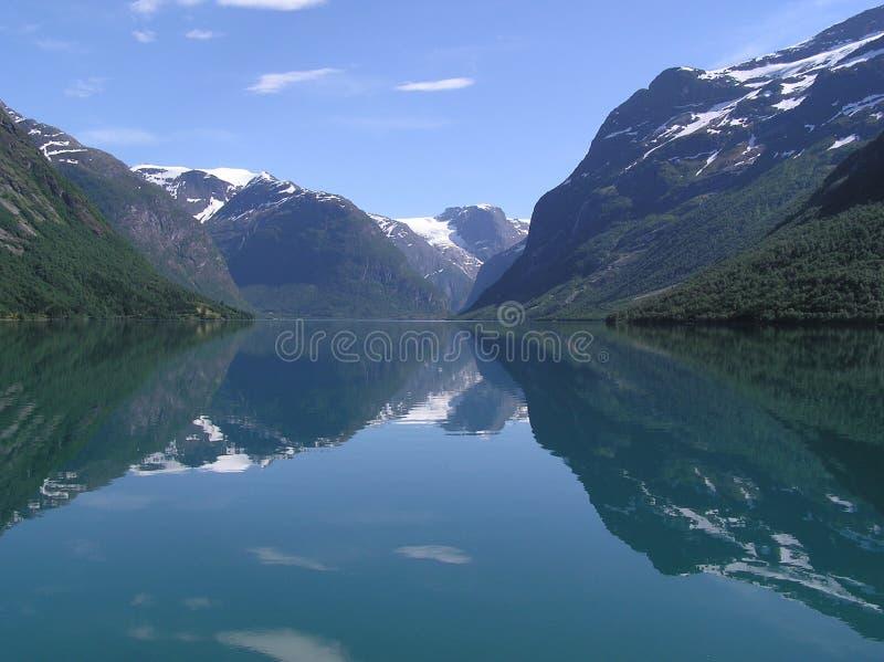 jeziorny norweg obrazy stock