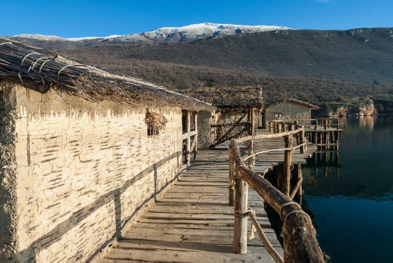 Jeziorny Ohrid, republika Macedonia (FYROM) zdjęcia stock