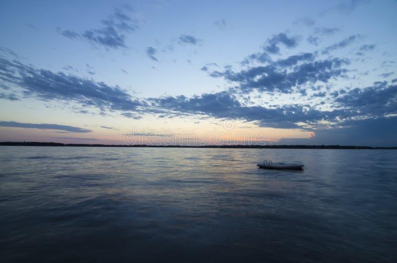 Jeziorny Okoboji, Iowa obraz stock