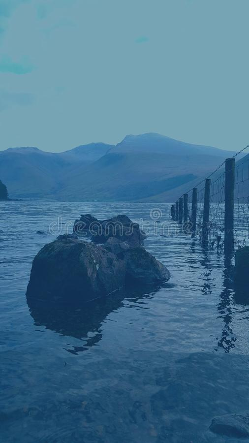 Jeziorny okręg obrazy royalty free