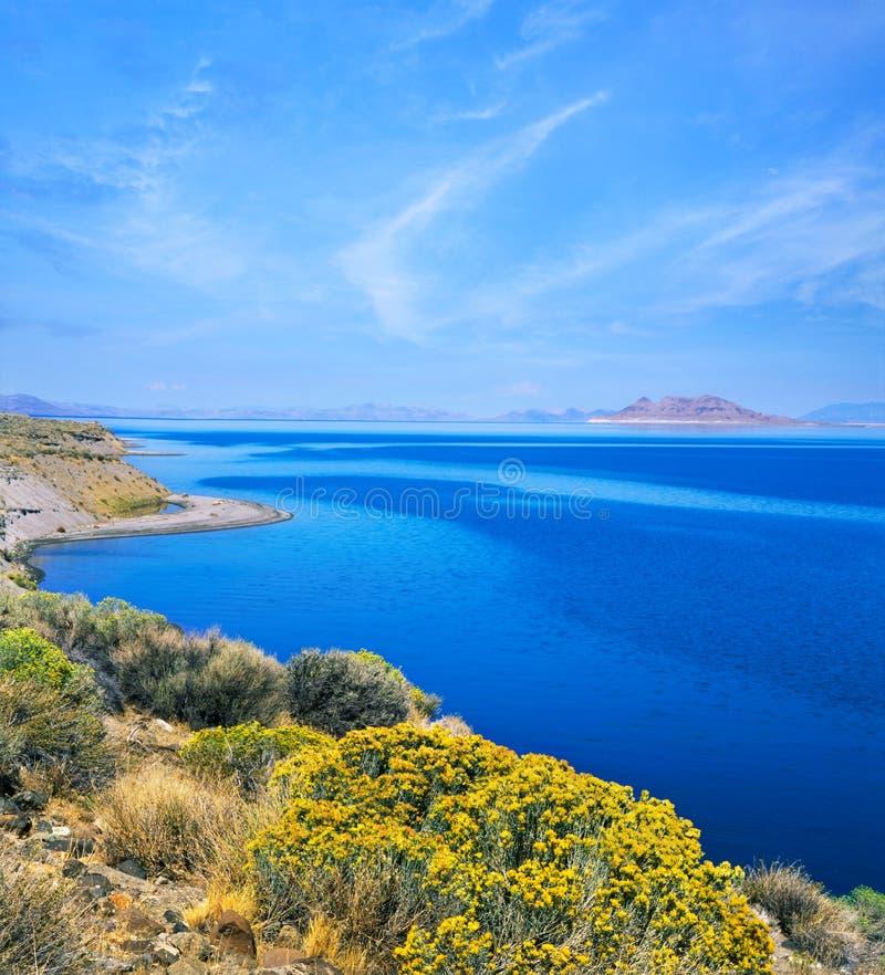 jeziorny ostrosłup zdjęcie stock