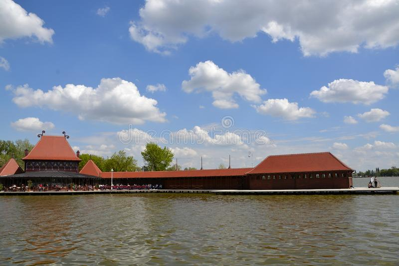 Jeziorny Palic, Subotica Serbia zdjęcia stock