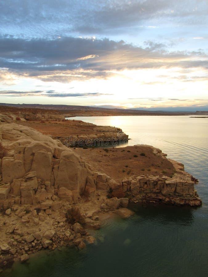 Jeziorny Powell Utah obrazy stock