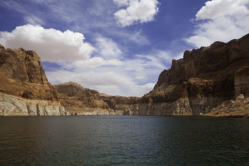 Jeziorny Powell, Utah zdjęcia stock