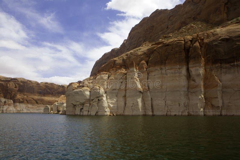 Jeziorny Powell, Utah fotografia royalty free