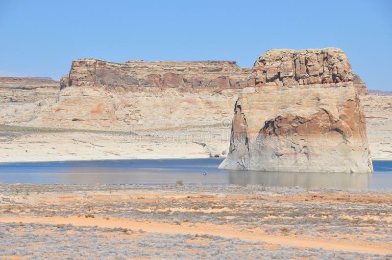 Jeziorny Powell w Utah i Arizona zdjęcia stock