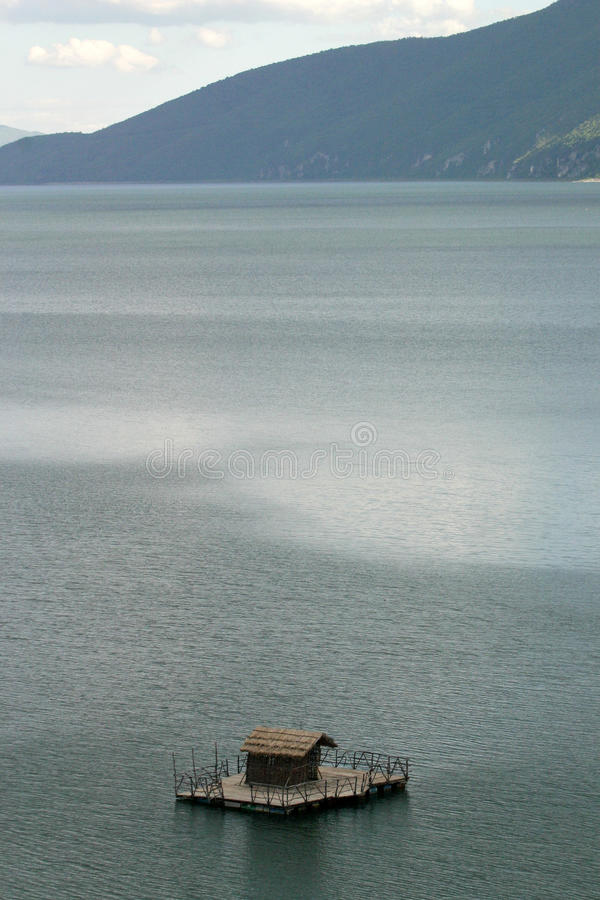Jeziorny Prespa, Macedonia zdjęcia royalty free