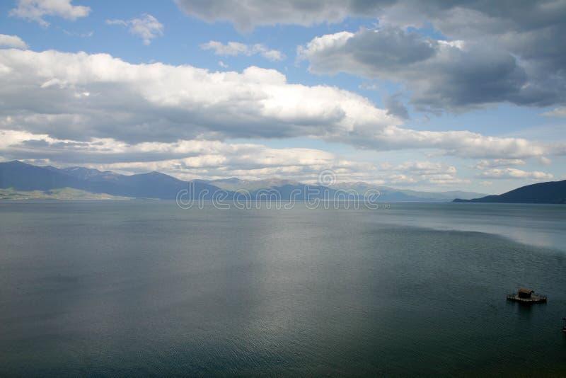 Jeziorny Prespa, Macedonia zdjęcie stock