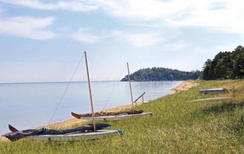 Jeziorny przełożony, Marquette, Michigan obraz stock