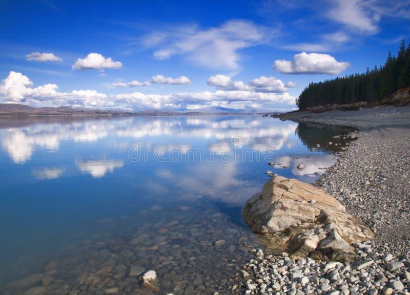 jeziorny pukaki zdjęcie royalty free