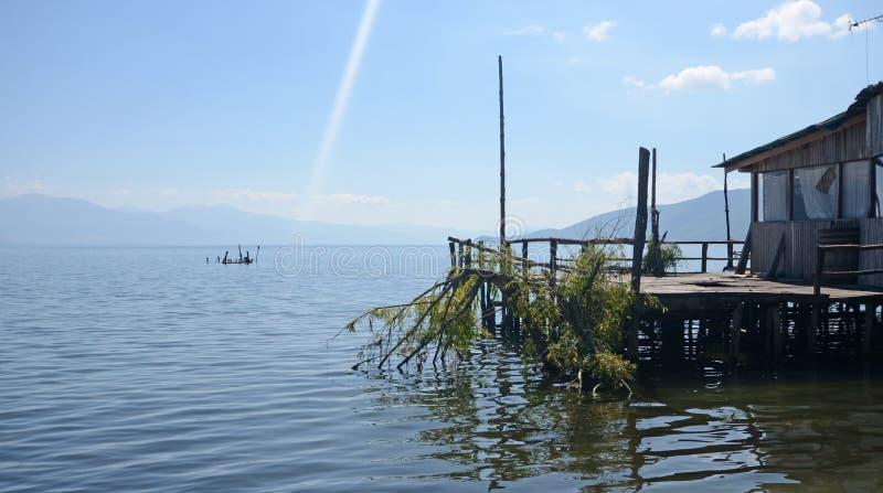 Jeziorny respa, Macedonia obrazy royalty free
