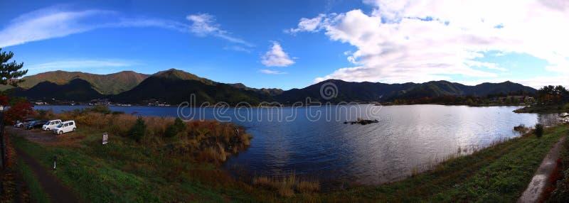 Jeziorny Saiko zdjęcie stock