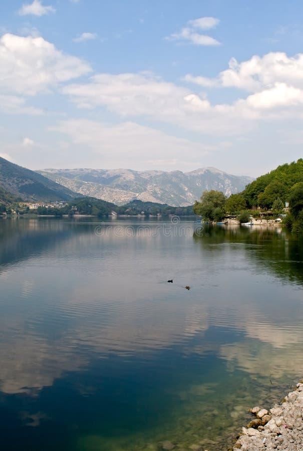 jeziorny scanno obraz royalty free