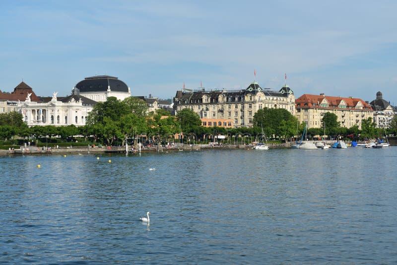 jeziorny Switzerland Zurich zdjęcia stock