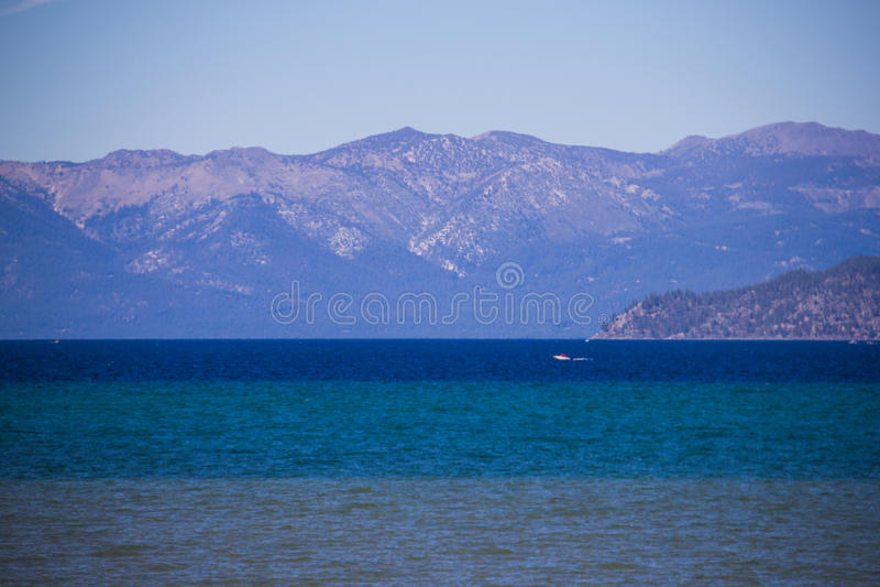 Jeziorny Tahoe, sierra Nevada góry Kalifornia 2 zdjęcia royalty free