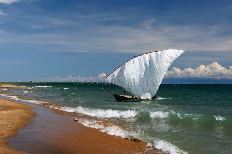 Jeziorny Tanganyika, Tanzania fotografia royalty free