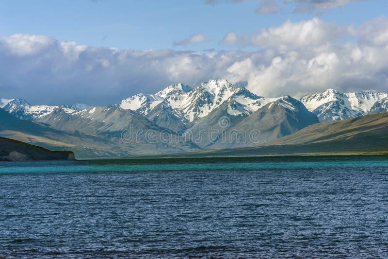 Jeziorny Tekapo zdjęcie stock