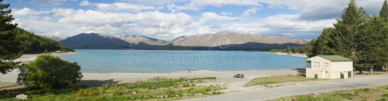 Jeziorny Tekapo fotografia royalty free