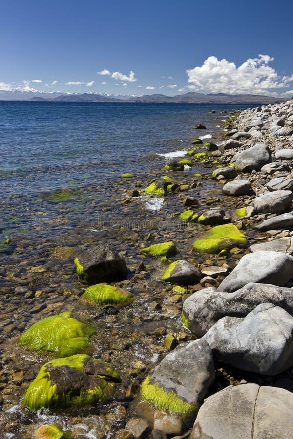 Jeziorny Titicaca Boliwia - Księżyc Wyspa - obrazy royalty free