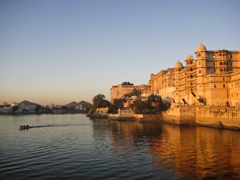 Jeziorny Udaipur zdjęcia stock