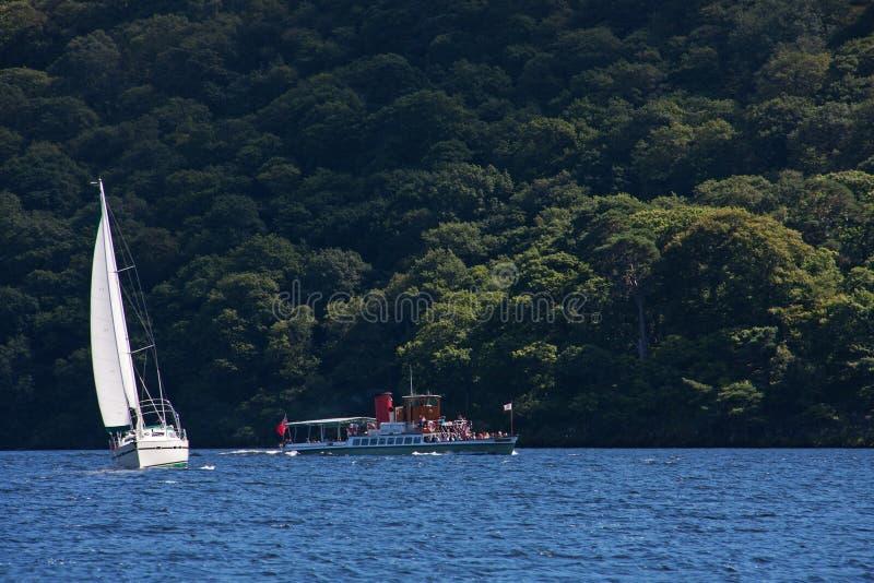 jeziorny ullswater zdjęcia stock