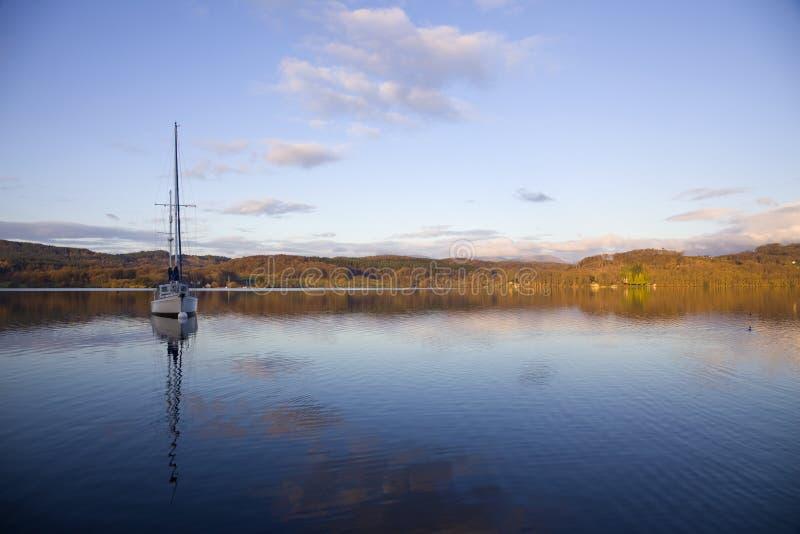 jeziorny ullswater zdjęcie royalty free