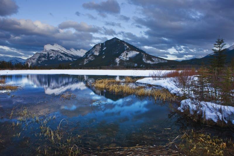 jeziorny vermillion fotografia stock