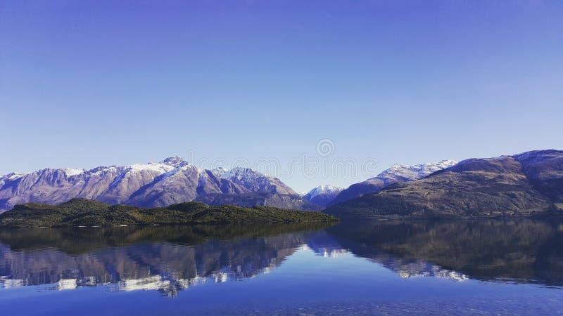 Jeziorny Wakatipu Queenstown zdjęcia royalty free
