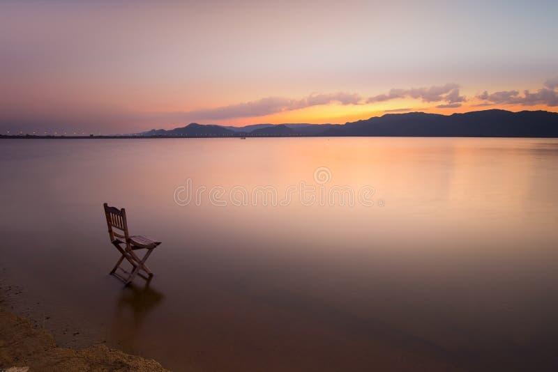 Jeziorny widok obraz royalty free