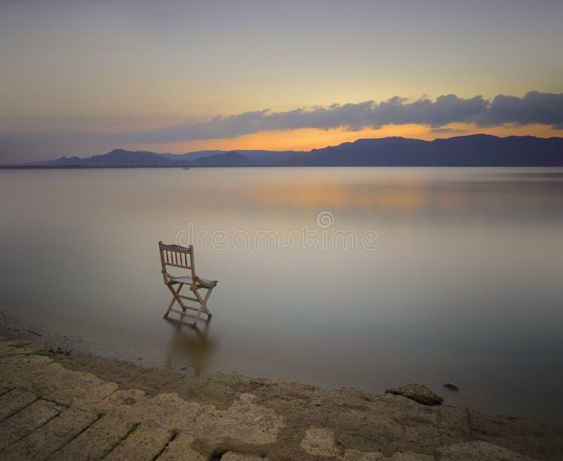 Jeziorny widok obrazy royalty free