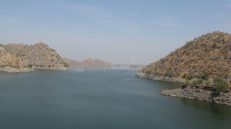Jeziorny widok zdjęcia royalty free