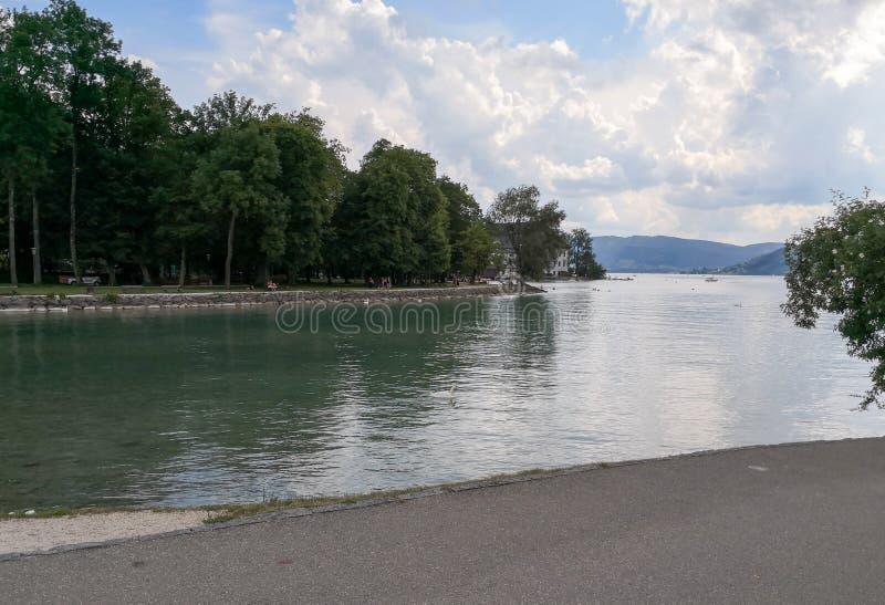Jeziorny widok w Austria obraz royalty free