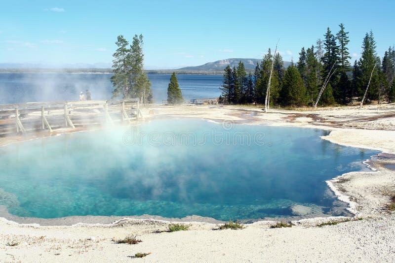 jeziorny Yellowstone zdjęcie stock