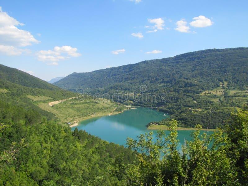 Jeziorny Zavoj zdjęcie stock