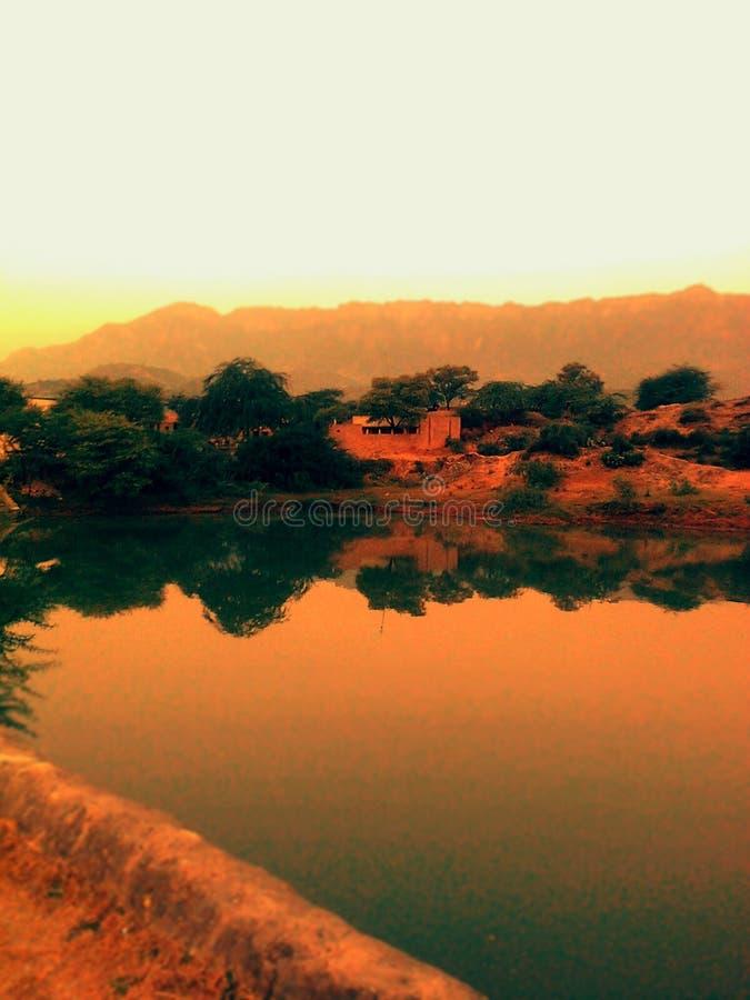 Jezioro życie obrazy royalty free