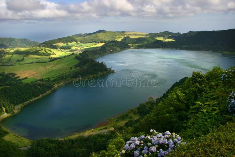 jezioro obrazy stock