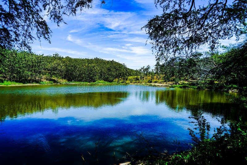 Jezioro obraz stock
