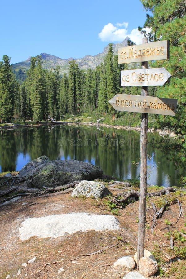 Jezioro borsukowaty zdjęcia stock