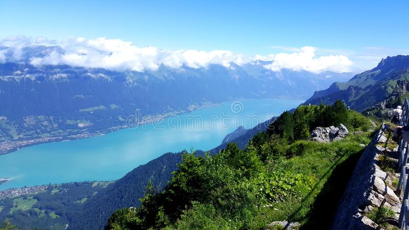 Jezioro Brienz zdjęcia stock