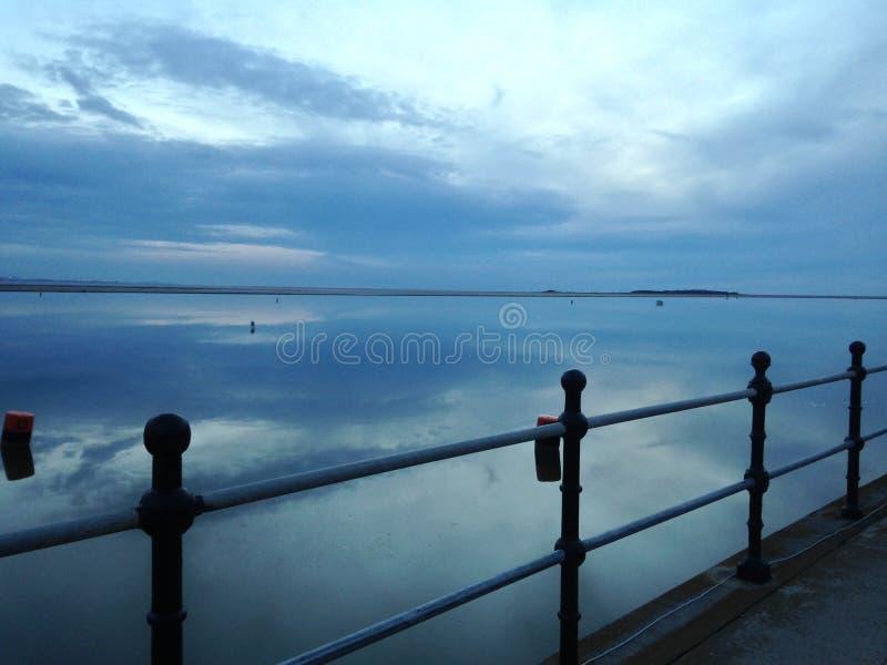 jezioro cicho fotografia stock