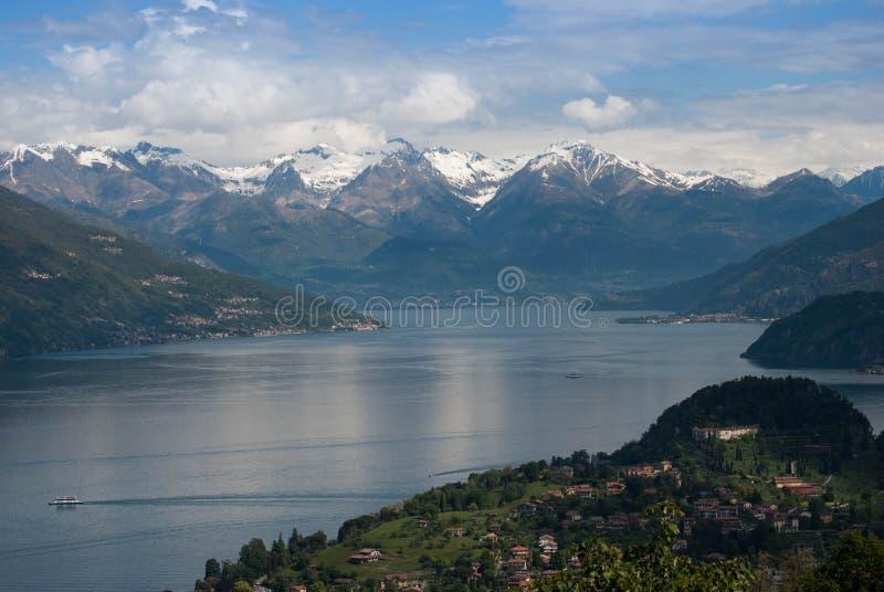 Jezioro Como obrazy royalty free