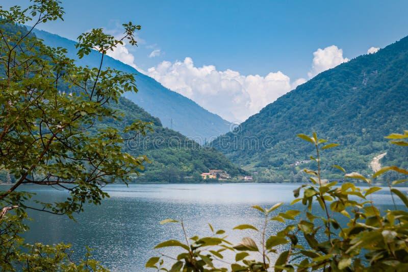 Jezioro Corlo obrazy royalty free