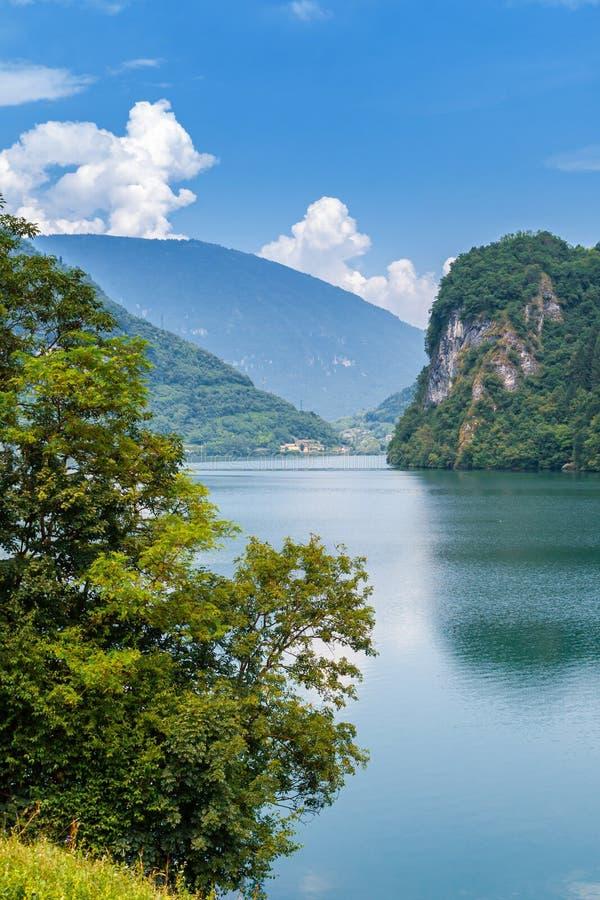 Jezioro Corlo obraz stock