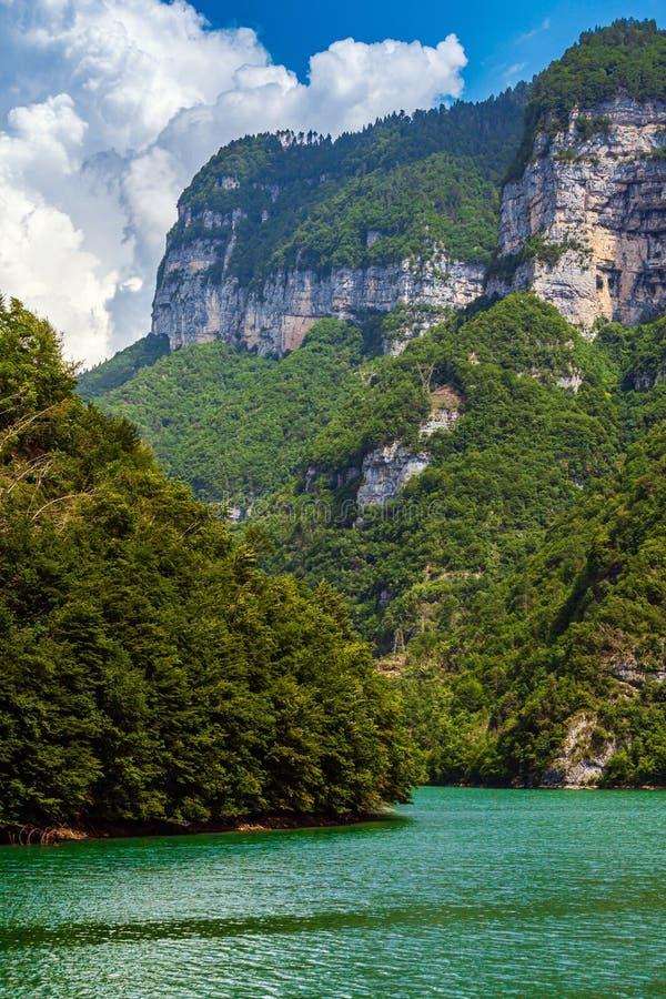 Jezioro Corlo zdjęcia royalty free