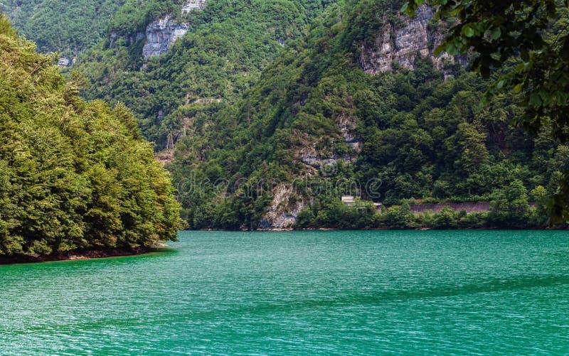 Jezioro Corlo fotografia stock