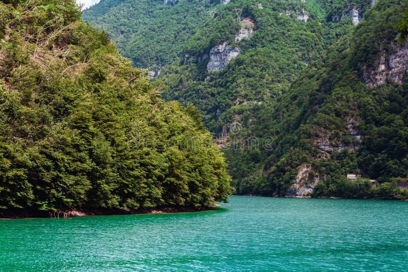 Jezioro Corlo fotografia royalty free